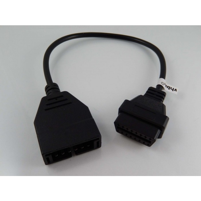 Adapter OBD1 GM a Chevrolet 12pin naf OBD2 Standard 16Pin