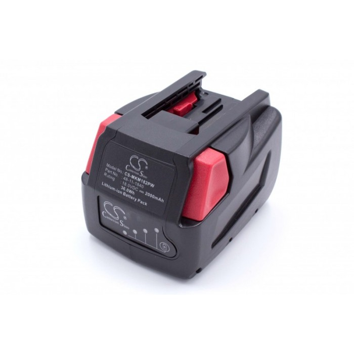 Milwaukee M18 XC 18V / 2000mAh / Li-Ion